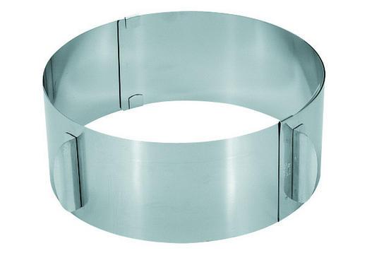 BACKRAHMEN - Edelstahlfarben, Basics, Metall (8,5cm) - GEFU