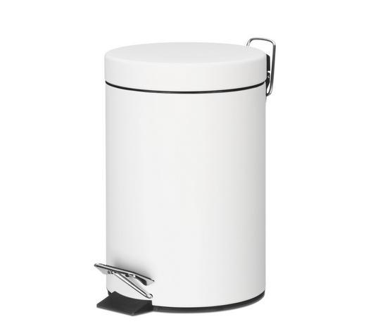KOSMETIKEIMER 3 L - Weiß, Basics, Metall (17/26cm) - Kela