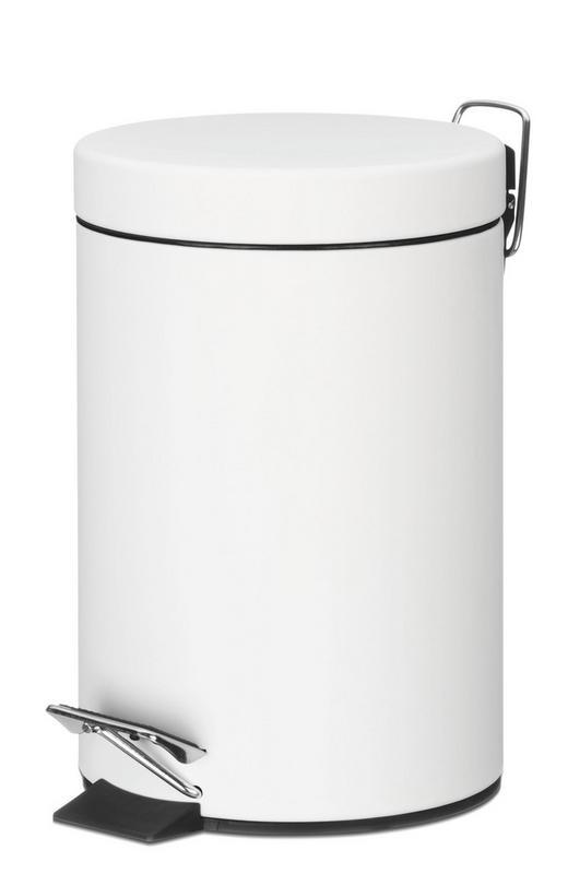 KOSMETIKEIMER 3 L - Weiß, Basics, Metall (17/26cm)