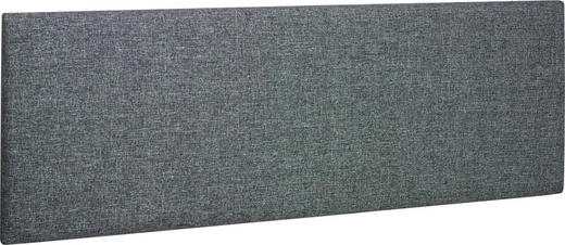 KOPFTEIL 147/52/4 cm  Hellgrau - Hellgrau, Design, Textil (147/52/4cm) - Carryhome