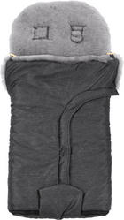 FUSAK S KOŽICHEM - šedá, Natur, textil (49/100cm) - Jimmylee