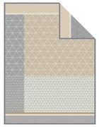 DEKA - šedá/béžová, Design, textil (150/200cm) - Novel