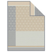 DEKA - šedá/béžová, Design, textilie (150/200cm) - Novel