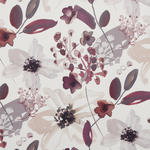 VORHANGSTOFF per lfm blickdicht  - Rot, KONVENTIONELL, Textil (140cm) - Esposa