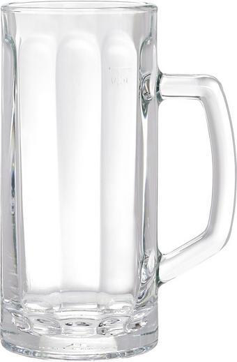 BIERKRUG - Klar, Basics, Glas (0,5l) - HOMEWARE