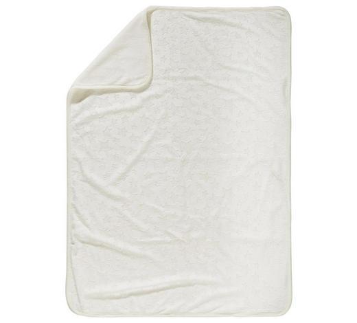 SCHMUSEDECKE 75/100 cm - Creme, Basics, Textil (75/100cm) - My Baby Lou