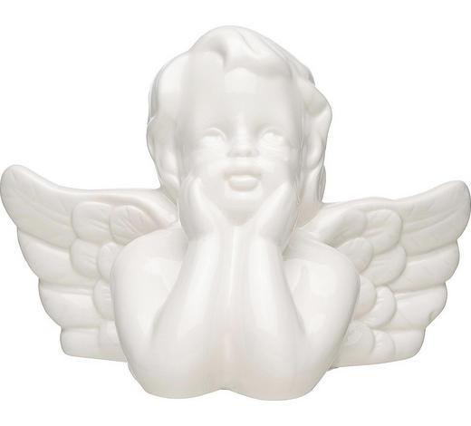 ANDĚL DEKORAČNÍ - bílá, Trend, keramika (13,5cm)