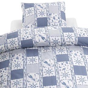 PÅSLAKANSET - vit/blå, Basics, textil (1,0625kg)