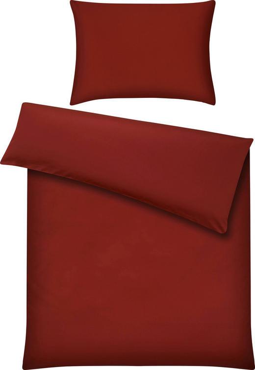 BETTWÄSCHE 140/200 cm - Bordeaux, Basics, Textil (140/200cm) - FUSSENEGGER