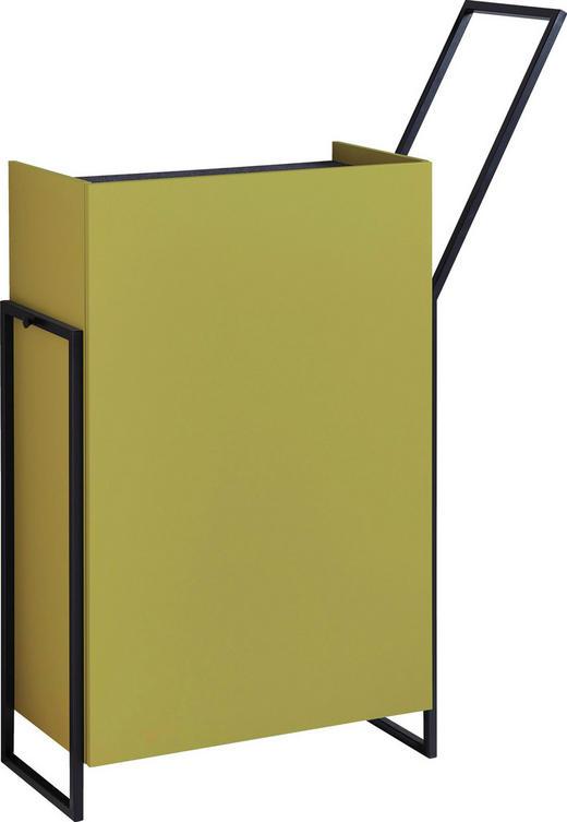 GARDEROBE Gelb, Grün - Gelb/Grün, Design, Metall (103/141/37cm)