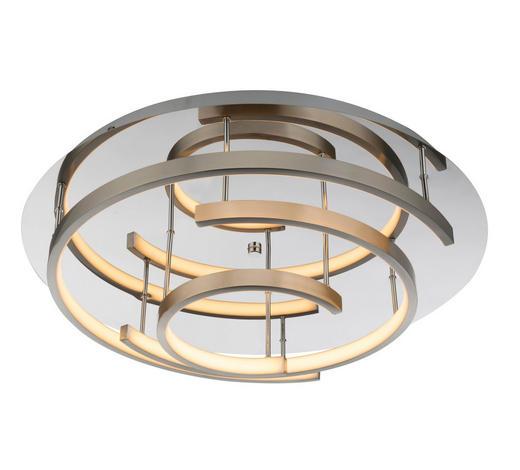 LED-DECKENLEUCHTE - Design, Kunststoff/Metall (50/13,5cm)