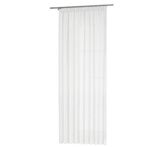 KUSOVÁ ZÁCLONA, průhledné, 300/245 cm - bílá, Basics, textil (300/245cm) - Esposa