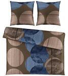 BETTWÄSCHE Satin Blau 200/200 cm  - Blau, KONVENTIONELL, Textil (200/200cm) - Novel
