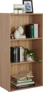 REGAL - boje hrasta/crna, Design, drvni materijal/plastika (60/115,2/32cm) - Carryhome