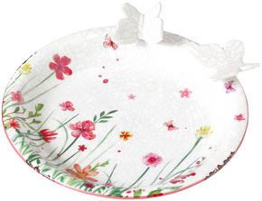 FÅGELBAD - multicolor, Lifestyle, keramik (25/7,5cm)