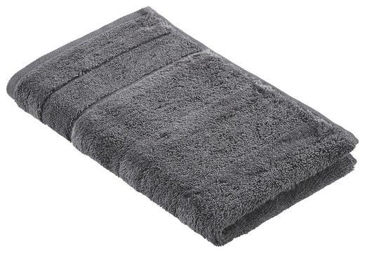 GÄSTETUCH Anthrazit 30/50 cm - Anthrazit, Basics, Textil (30/50cm) - Cawoe