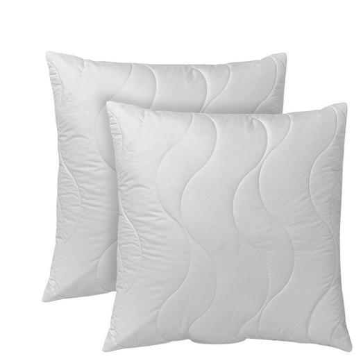 Kopfkissen 2er Pack  80/80 cm - Weiß, Textil (80/80cm) - Centa-Star