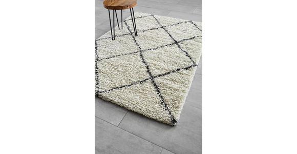HANDWEBTEPPICH  130/190 cm  Creme   - Creme, Trend, Textil (130/190cm) - Linea Natura