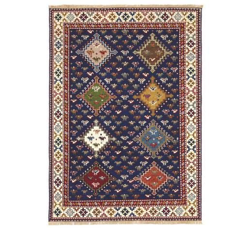 KOBEREC ORIENTÁLNÍ, 70/140 cm, modrá, krémová - modrá/krémová, Lifestyle, textil (70/140cm) - Esposa