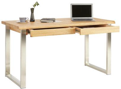 Schreibtisch In Holz Metall 140 76 67 Cm Online Kaufen Xxxlutz