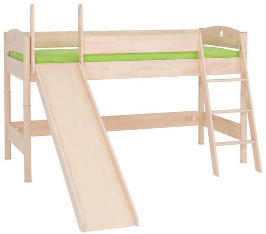 VYSOKÁ POSTEL - barvy břízy, Konvenční, dřevo (90/200/cm) - Paidi