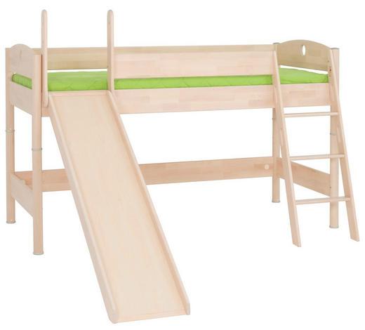 VYSOKÁ POSTEL - barvy břízy, Konvenční, dřevo (90/200cm) - Paidi