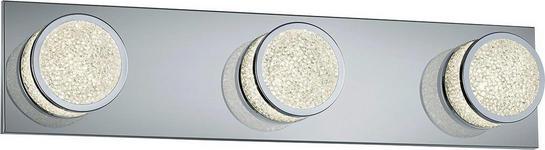 LED-WANDLEUCHTE - Design, Kunststoff/Metall (50/11/8,5cm) - Novel