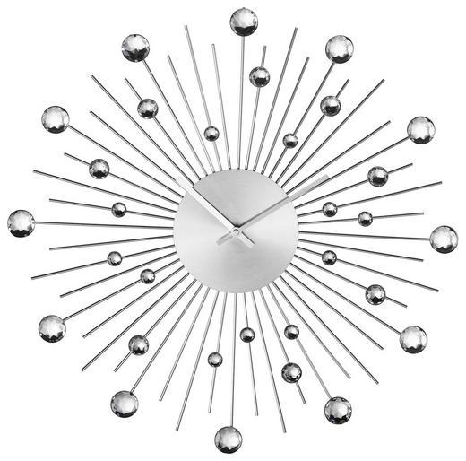 WANDUHR  Silberfarben - Silberfarben, Metall (55/10cm)