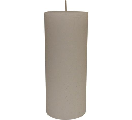 STUMPENKERZE 10/24 cm  - Weiß, Basics (10/24cm) - Ambia Home