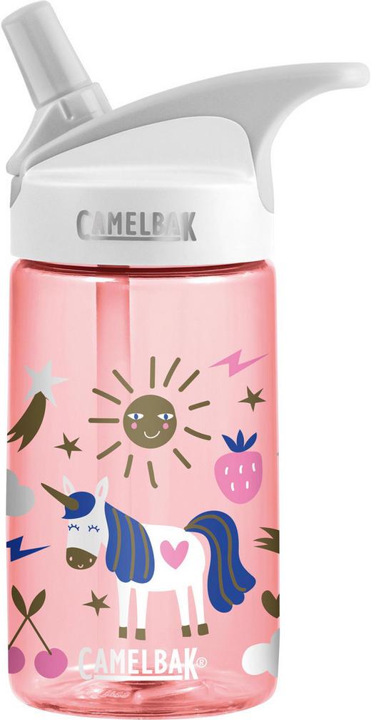 Kindertrinkflasche 0,4 l - Hellrosa, Design, Kunststoff (0,4l)