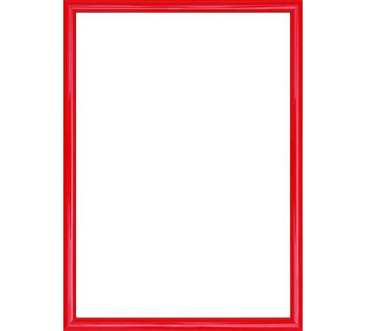 BILDERRAHMEN in Rot  - Rot, Basics, Glas/Kunststoff (25/19/1.75cm)