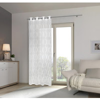ÖSENSCHAL  halbtransparent  140/245 cm   - Weiß, Design, Textil (140/245cm) - Esposa