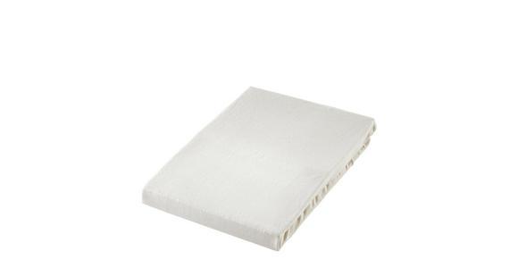 SPANNBETTTUCH Jersey Naturfarben bügelfrei, für Wasserbetten geeignet  - Naturfarben, Basics, Textil (150/200cm) - Boxxx