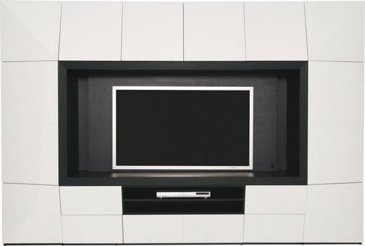 REGAL ZA DNEVNI BORAVAK - bijela/boje grafita, Design, staklo/drvni materijal (294/199,5/53cm) - AMBIENTE