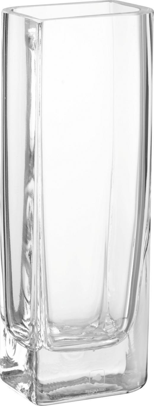 VÁZA - čiré, Basics, sklo (25//cm) - Leonardo