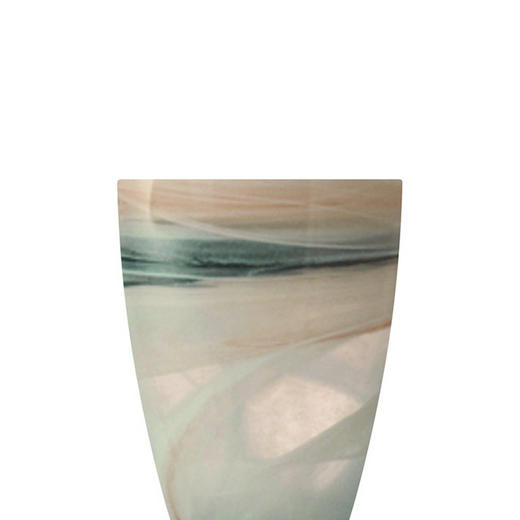 WINDLICHT - Beige, Glas (15/19/15cm) - LEONARDO