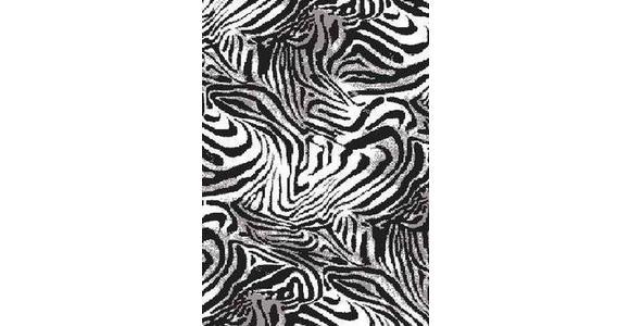TEPPICH  80/150 cm  Schwarz, Weiß - Schwarz/Weiß, Basics, Textil (80/150cm) - Novel
