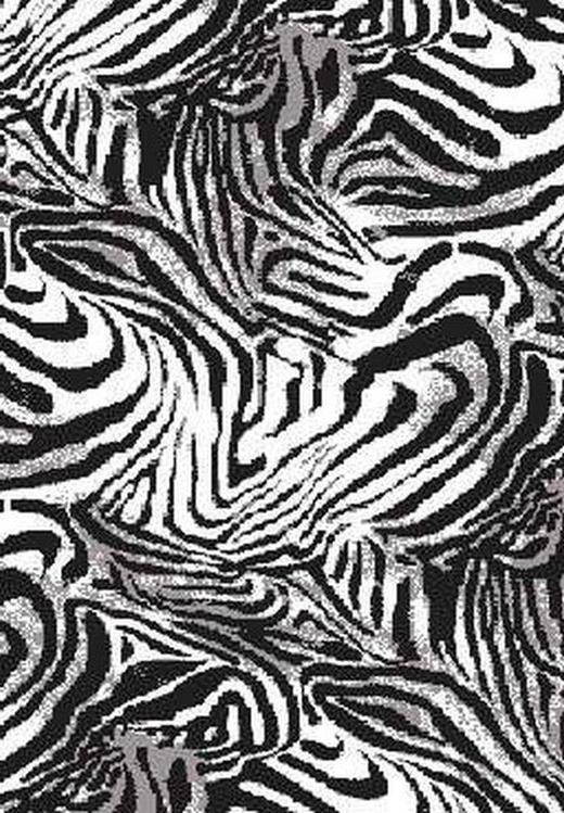 WEBTEPPICH  133/190 cm  Schwarz, Weiß - Schwarz/Weiß, Basics, Textil (133/190cm) - Novel