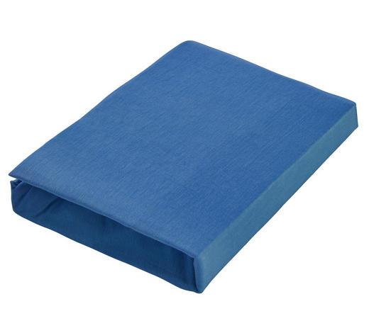 KINDERSPANNLEINTUCH - Blau, Basics, Textil (60/70/120/140cm) - Träumeland