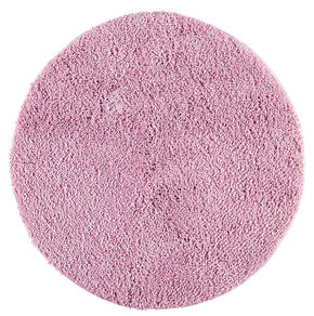 BADRUMSMATTA - rosa, textil/plast (60/60/10cm)