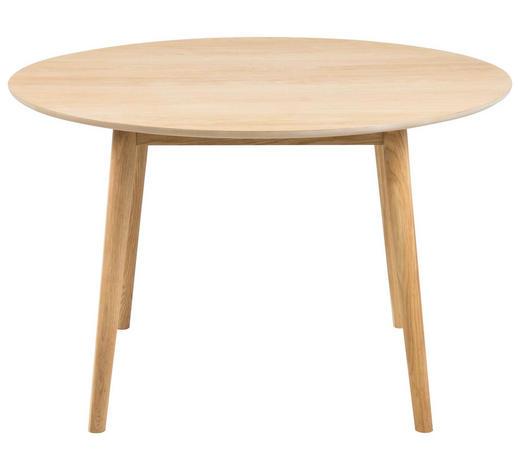 JÍDELNÍ STŮL, dýhované, dub, barvy dubu - barvy dubu, Design, dřevo (120/75cm) - Carryhome