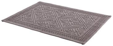 BADTEPPICH  Anthrazit  50/80 cm     - Anthrazit, KONVENTIONELL, Textil (50/80cm) - Esposa