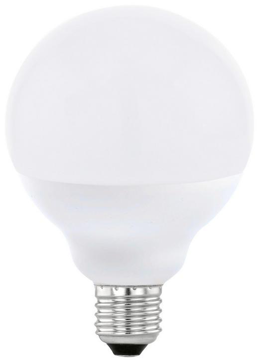 LED-Leuchtmittel E27 - Weiß, Basics, Glas (13,6  cm)