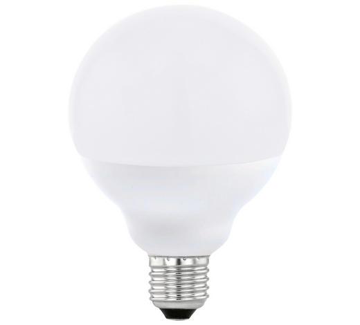 LED-Leuchtmittel E27 - Weiß, Basics, Glas (13,6cm)