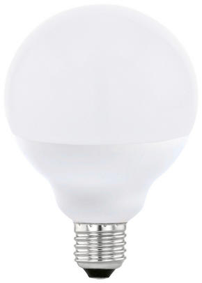 LED - vit, Basics, metall (13,6cm)