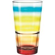 GLAS - orange/blå, Basics, glas (0.33l) - Leonardo