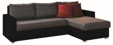 SJEDEĆA GARNITURA - siva/prirodne boje, Design, tekstil (230/155cm) - Xora