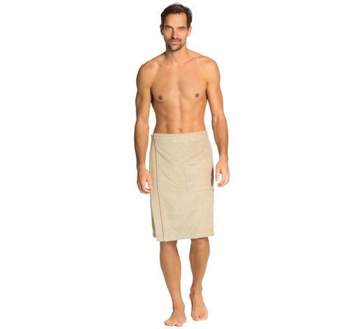 SAUNAKILT - Hellbraun, Basics, Textil (140/60cm) - Vossen