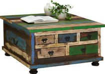 COUCHTISCH in Holz, Holzwerkstoff 88/88/47 cm   - Multicolor/Braun, Design, Holz/Holzwerkstoff (88/88/47cm) - Carryhome