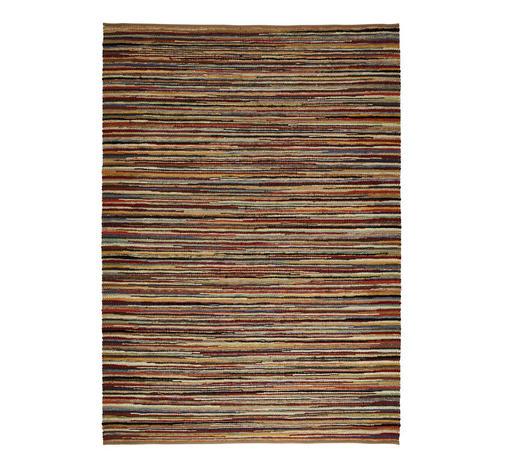 Fleckerlteppich  130/190 cm  Multicolor   - Multicolor, Basics, Textil (130/190cm) - Linea Natura